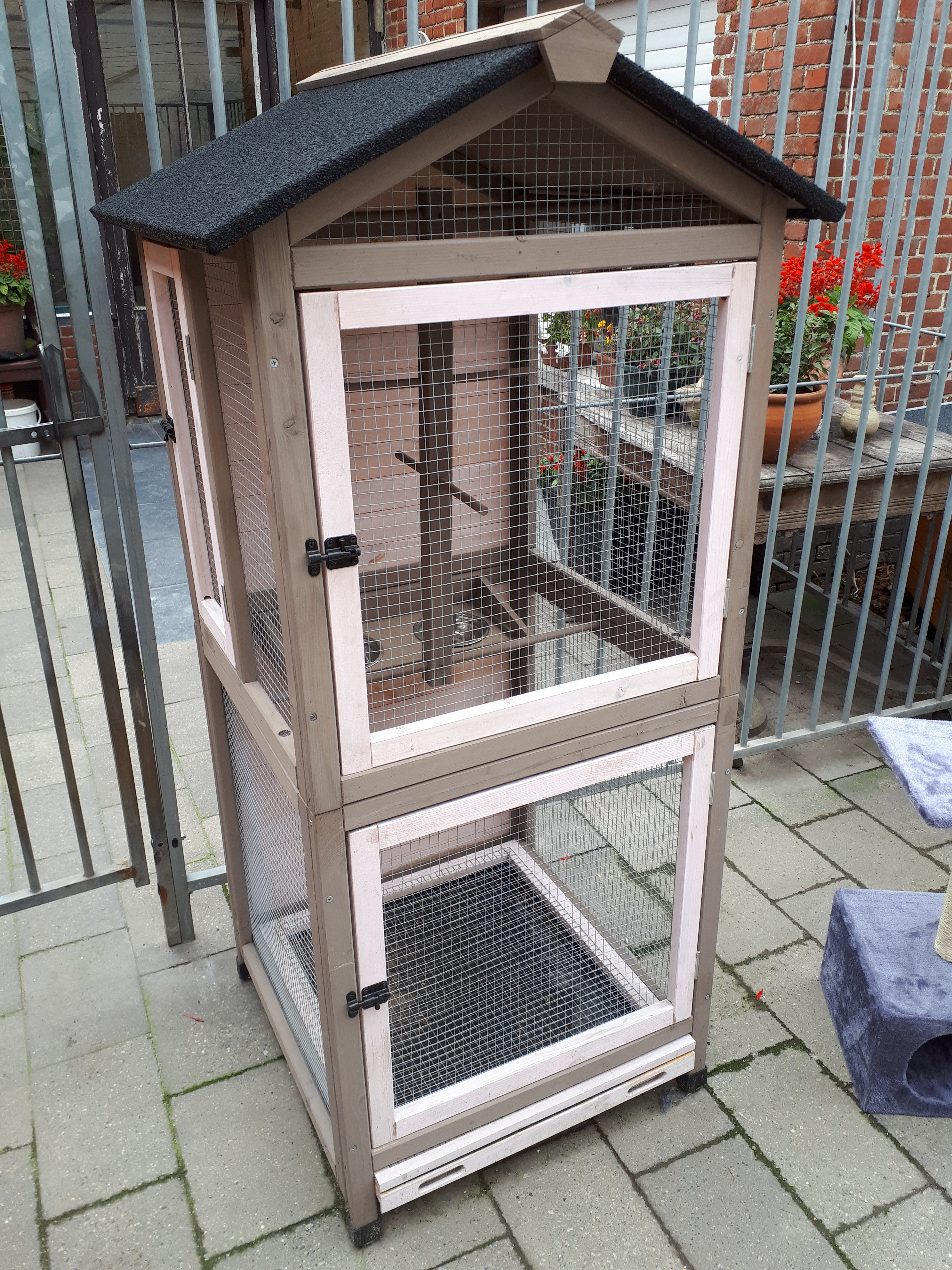 promo Vogelkooi hout budget2